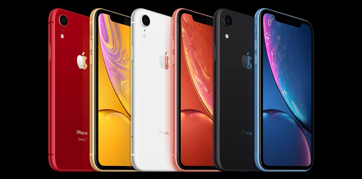 iPhone XR Colors | Apple iPhone XS vs XS Max vs XR