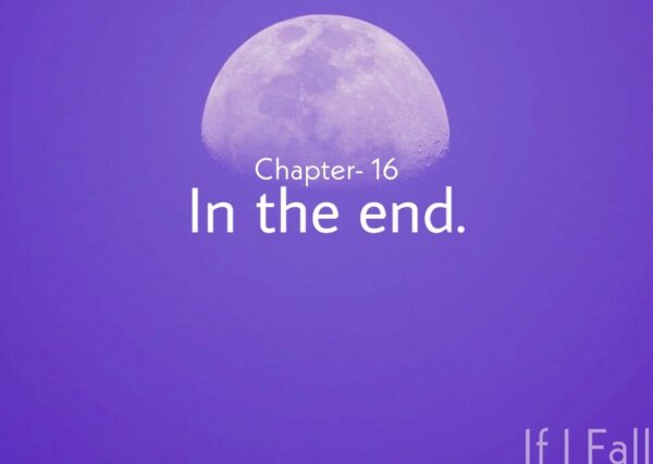 Fiction end Chapter- 16, IN the end by the caffables a lifestyle and short story blog.