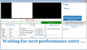 Judge Scoring System