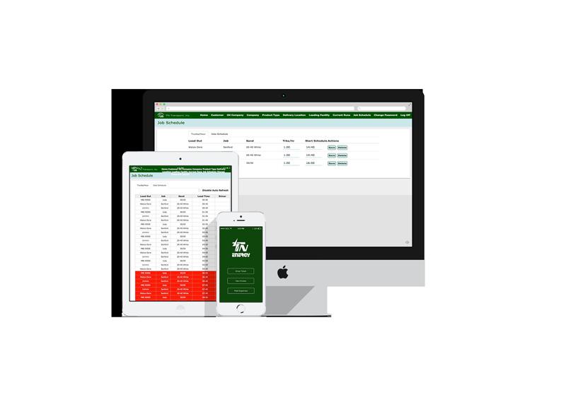 Custom Transport Dispatch Software