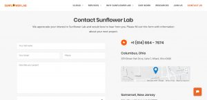 Contact Sunflower Lab