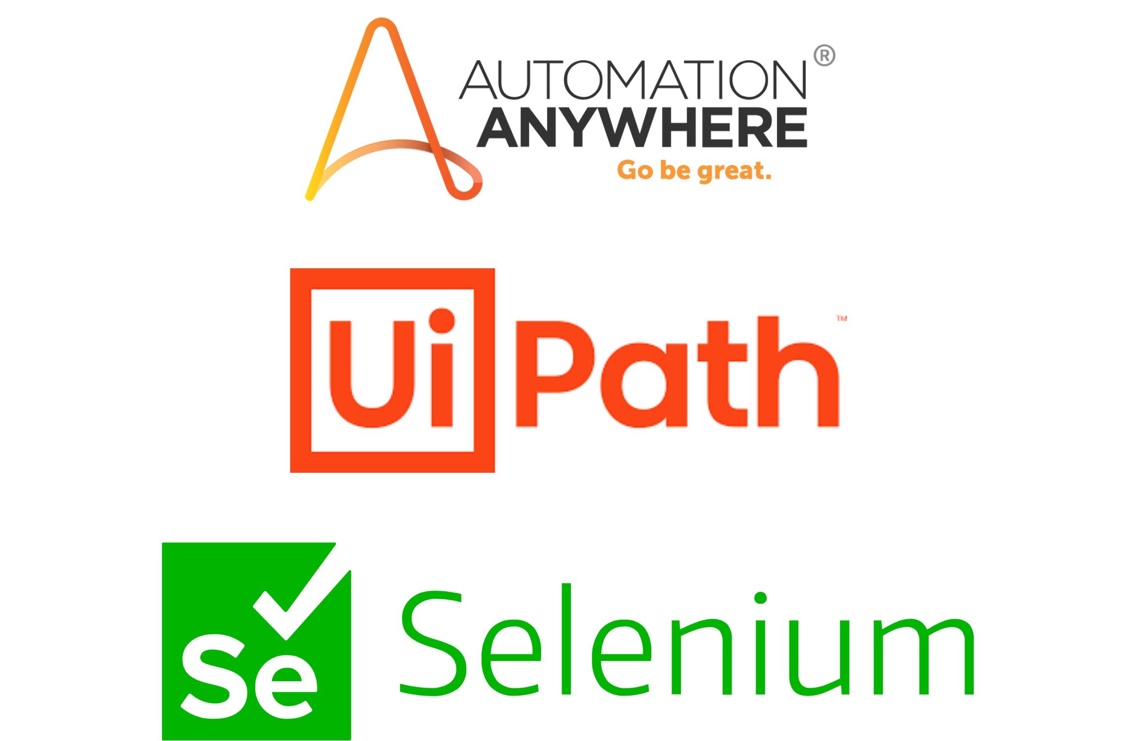 robotic process automation sunflower lab automation anywhere uipath selenium