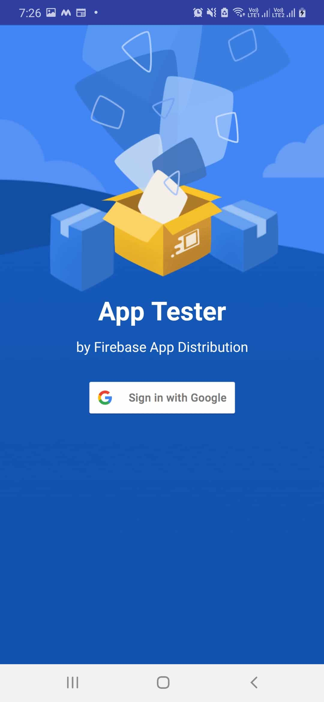 Firebase App Distribution android 3