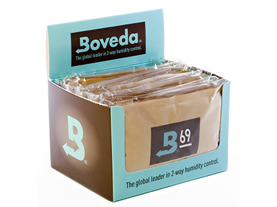 $53.99 – Boveda Humipak 69% Humidity 12ct – Humidification