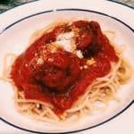 quick spaghetti and meatballs