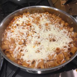 one pot chicken parm pasta