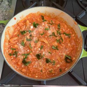 cavatelli with pot cheese