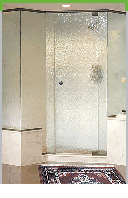 Vision Frameless Pivot Shower System