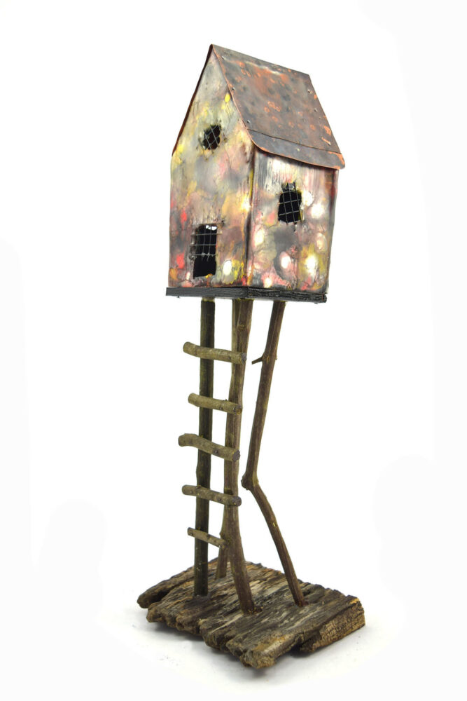 """Abandoned Home #25,"" by Vickie Bradshaw 