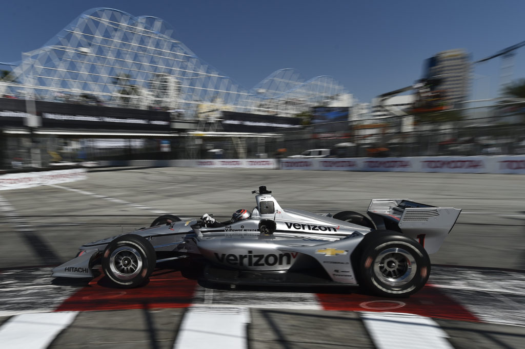 Newgarden at Long Beach