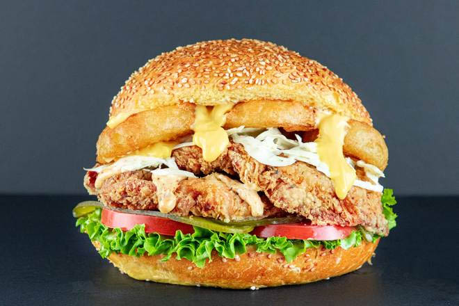 10. B12 Chicken Burger
