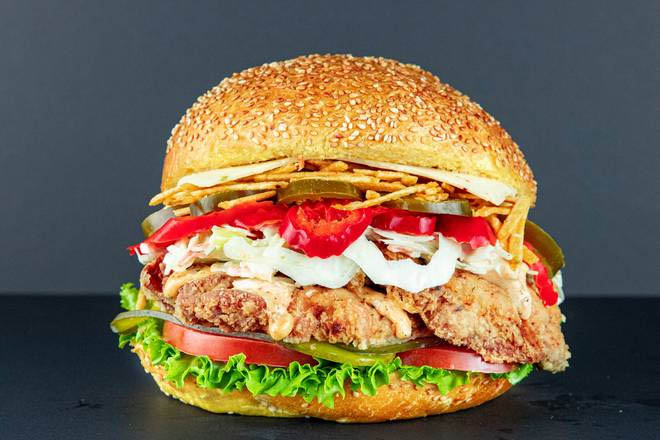 12. Chicken Jalapeno Burger