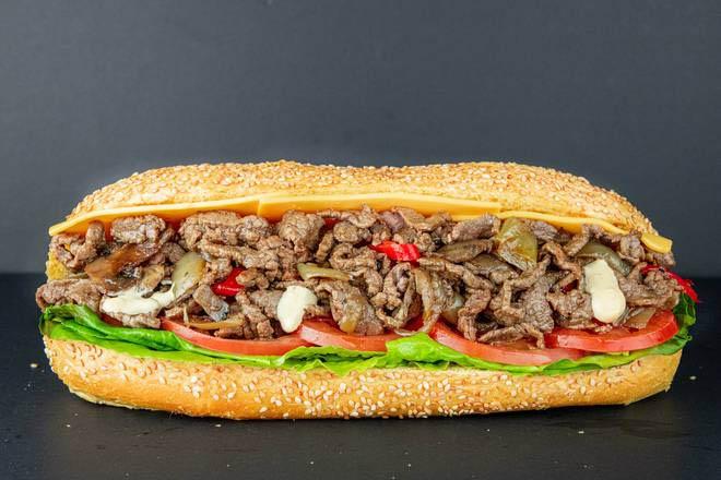 14. B12 Philly Steak Sandwich