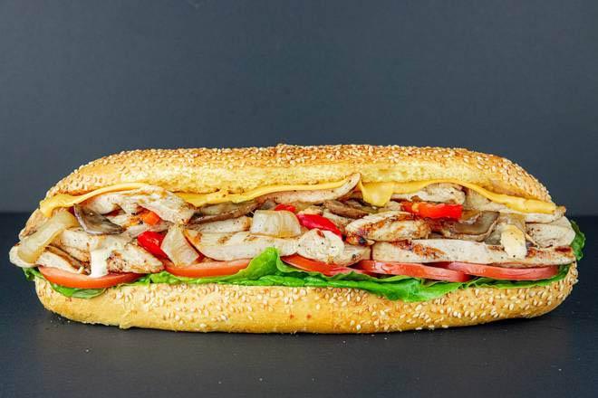 15. B12 Chicken Filet Sandwich