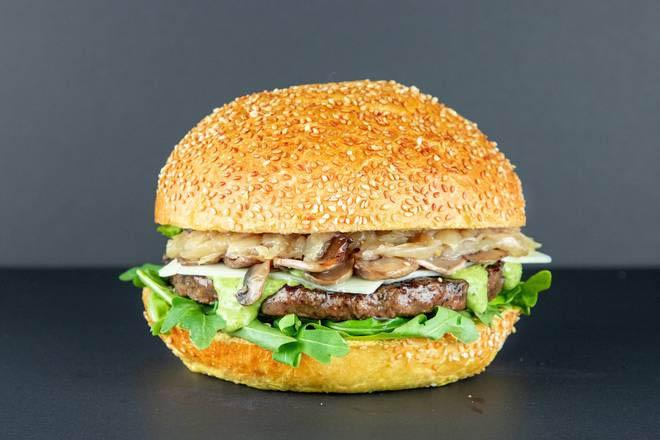 2. Swiss Burger