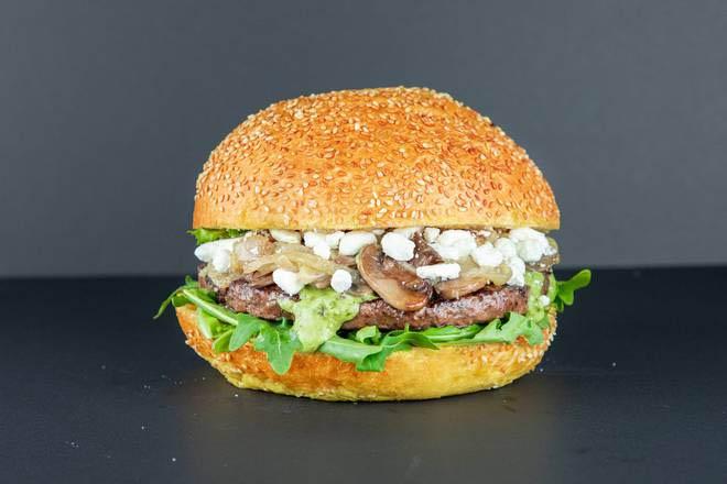 6. Feta Burger