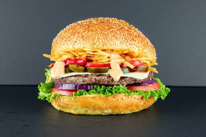 7. Spicy Cheese Burger