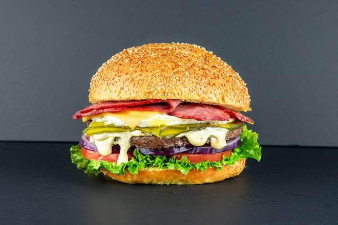 4. Cheddar Egg Burger