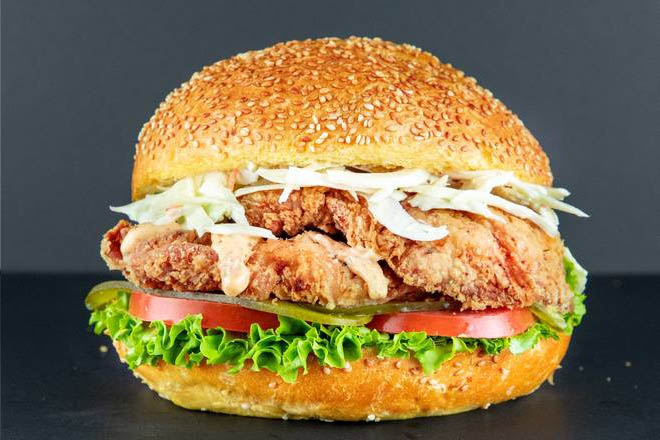 9. Classic Chicken Burger