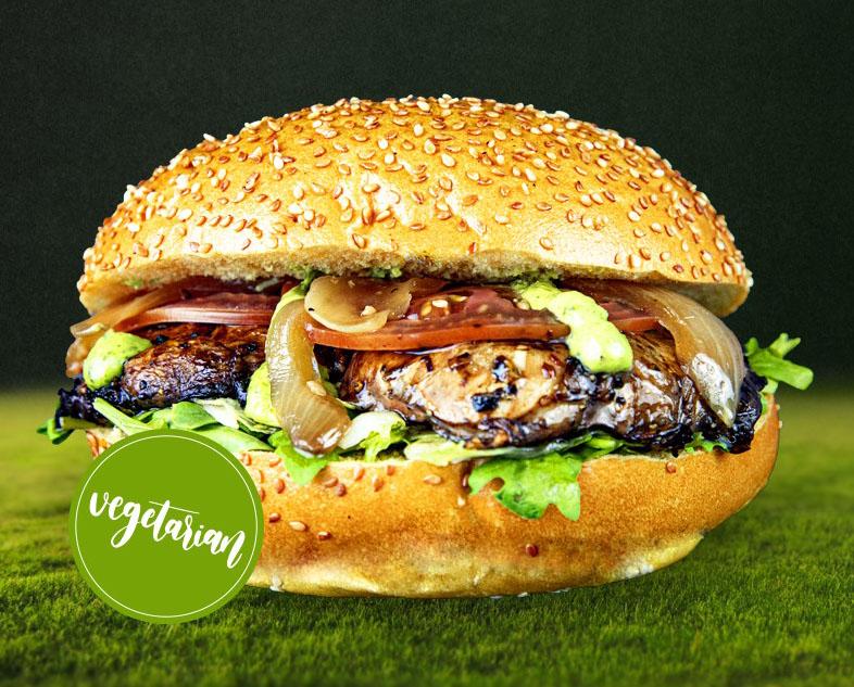 13. Portobello Veggie Burger