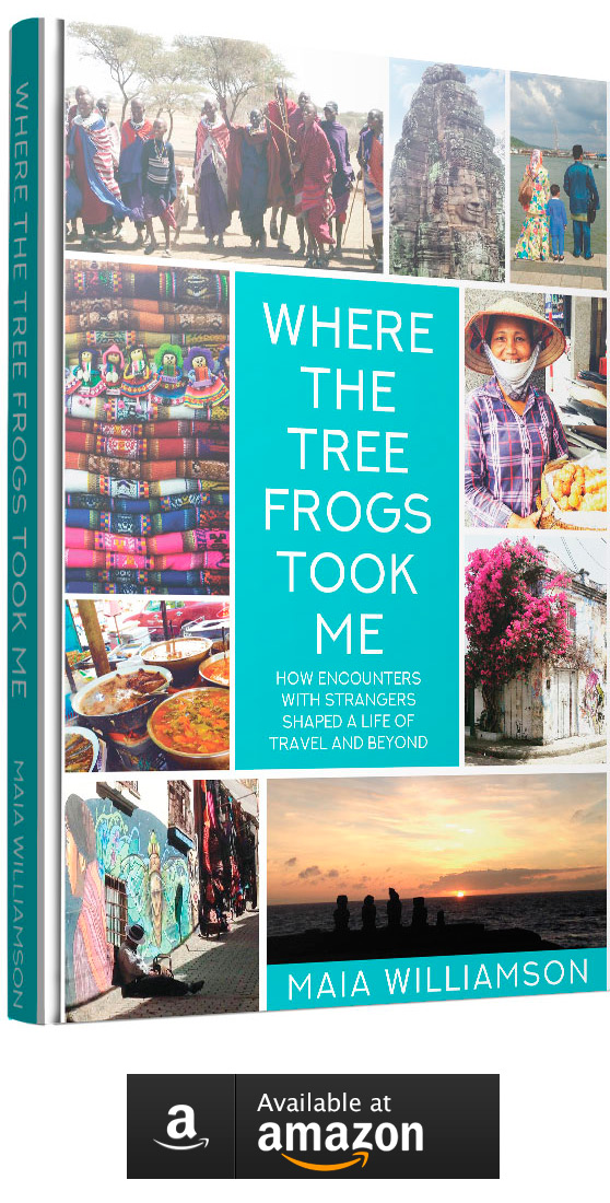 Where the Frogs Took Me Book