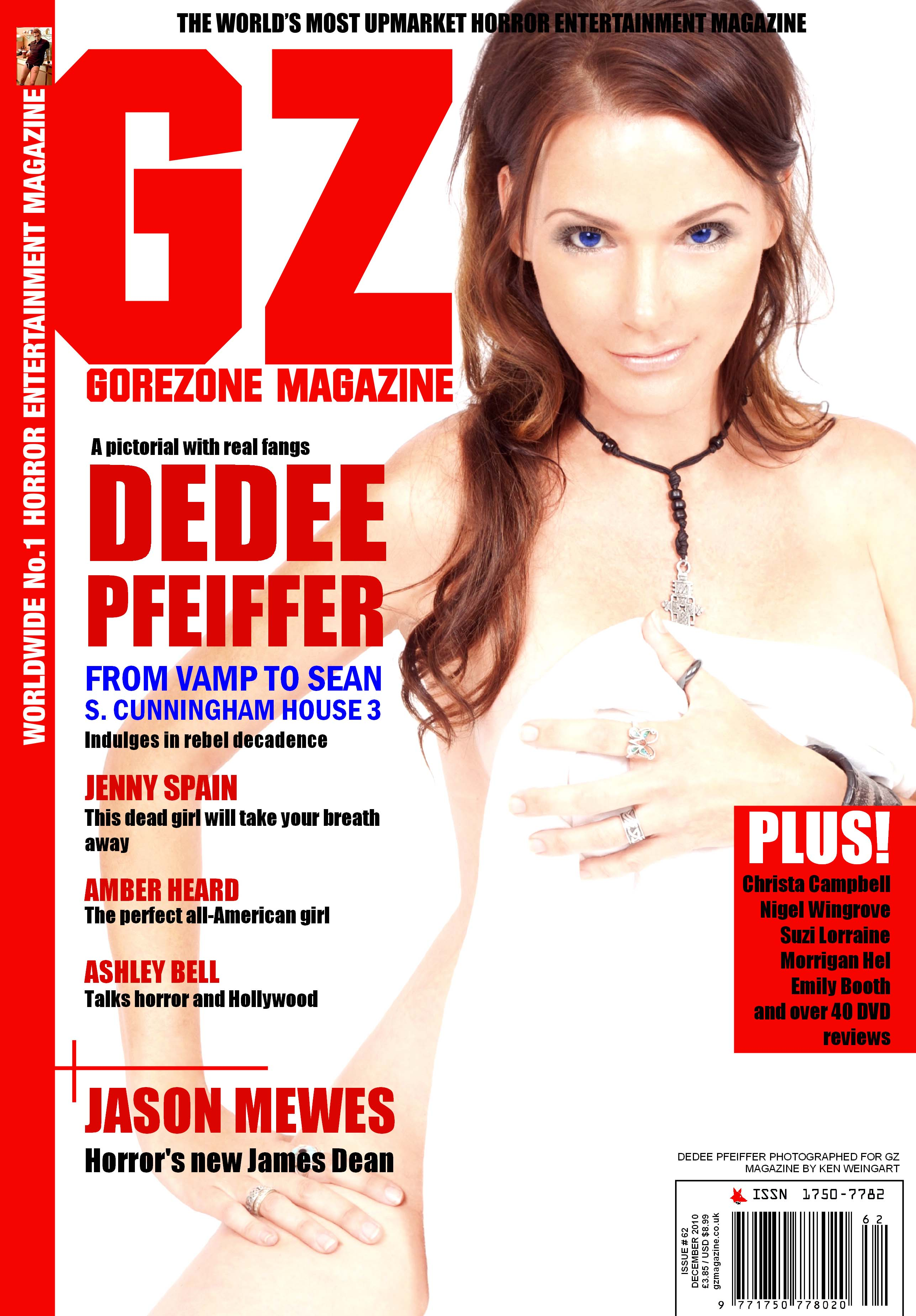 Gorezone Magazine - DeeDee Pfeiffer Credit