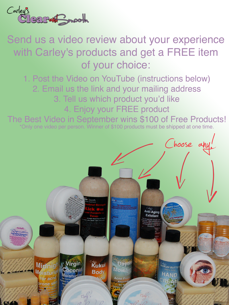 Send Us a Video Review, Get a Free Product