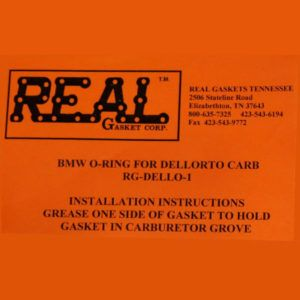 RG-Dello-1 label for silicone rubber valve cover gaskets