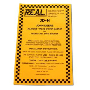 JD-H-2 instructions for silicone rubber valve cover gaskets