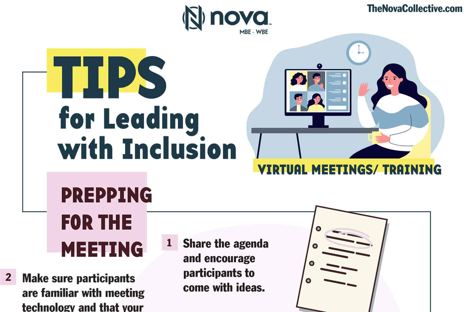 Tips for Leading with Inclusion from Nova Collective