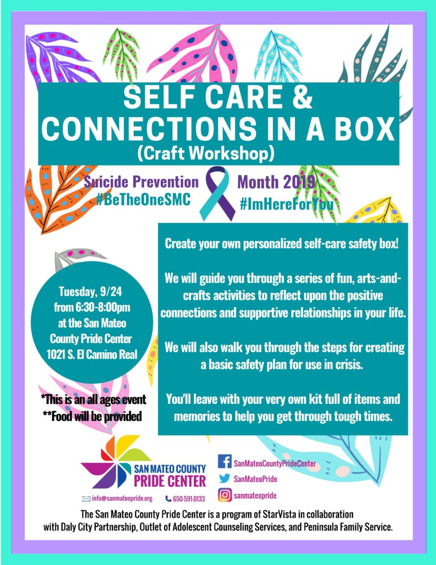 Suicide Prevention & Awareness Month at the Pride Center