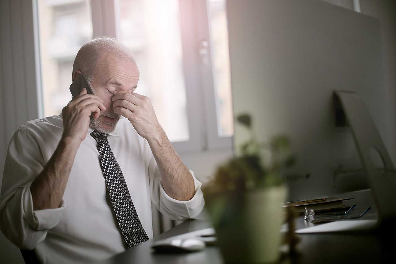 Frustration without managed IT services