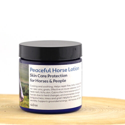 Peaceful Horse Lotion Skin Protection for Horses & People
