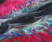 Spirit Bird Intuitive Portrait by Erika Rado Salmon Dreaming Message