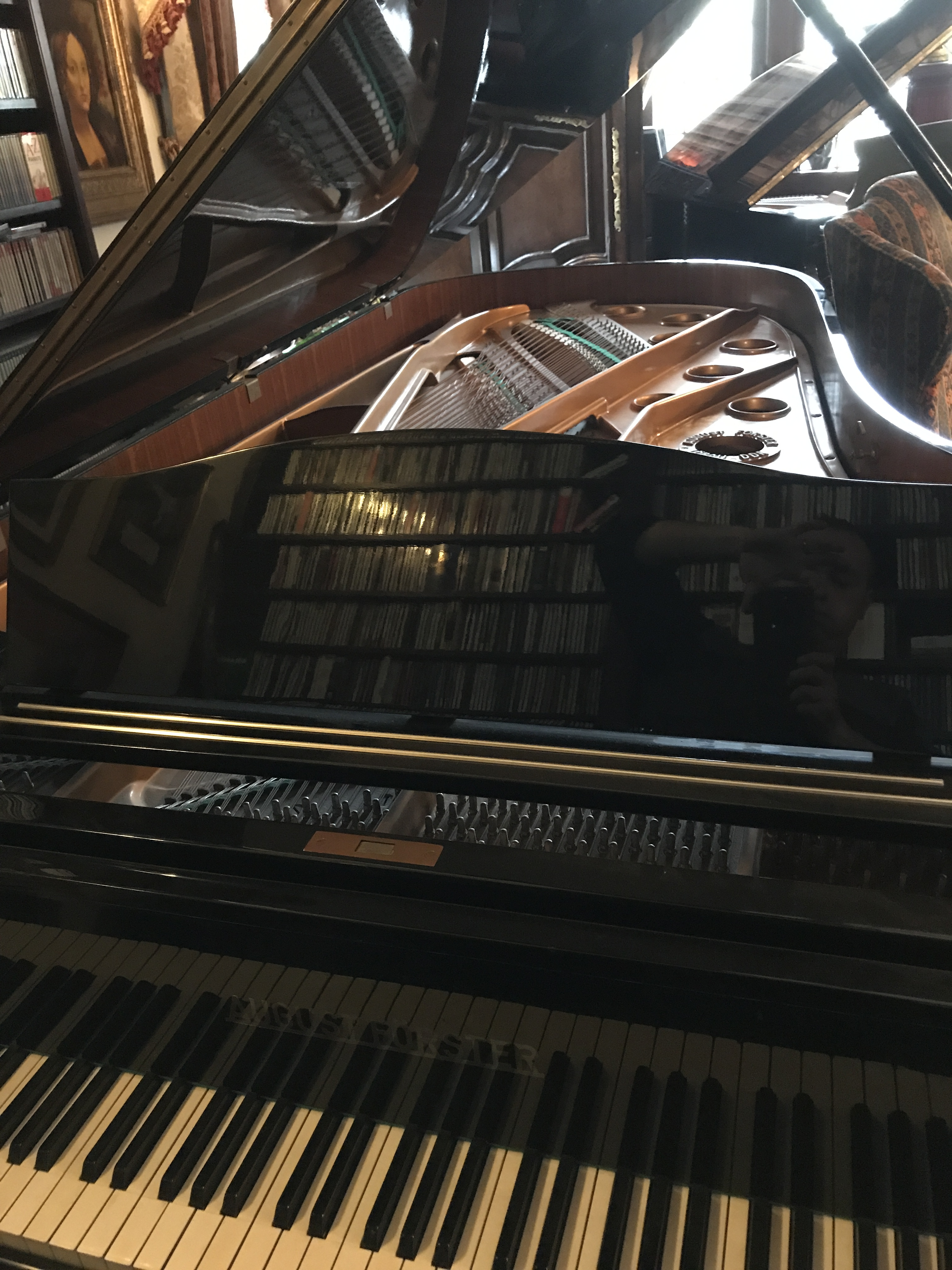 August Forster Concert Grand Ridgefield