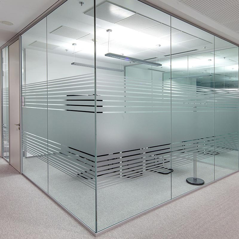 Brisk Arch low profile single glazed track glass wall system