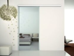 Evolution Glass sliding door
