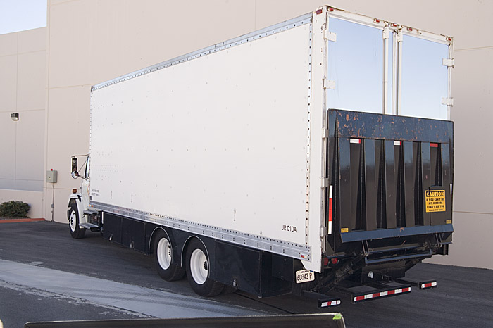 JR Lighting - Pre Loaded Lighting and Grip Truck with Lift Gate