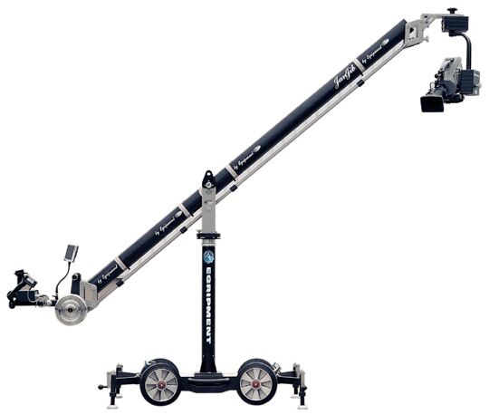 Jan Jib Camera Crane Rental - JR Lighting Las Vegas