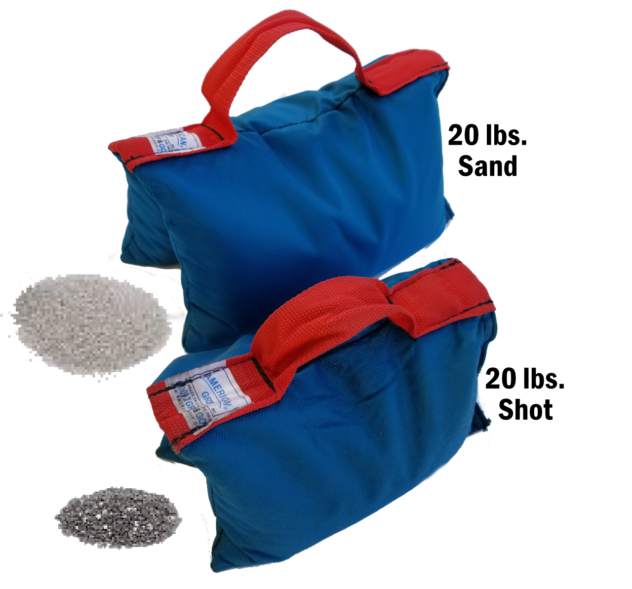 Sand bags & shot bags | JR Lighting Las Vegas