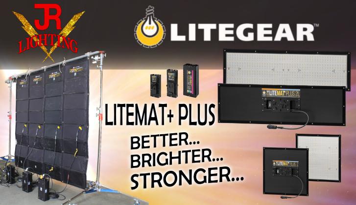 JR Lighting and Grip Rental Las Vegas | Home Slider Image | LiteMat+ PLUS