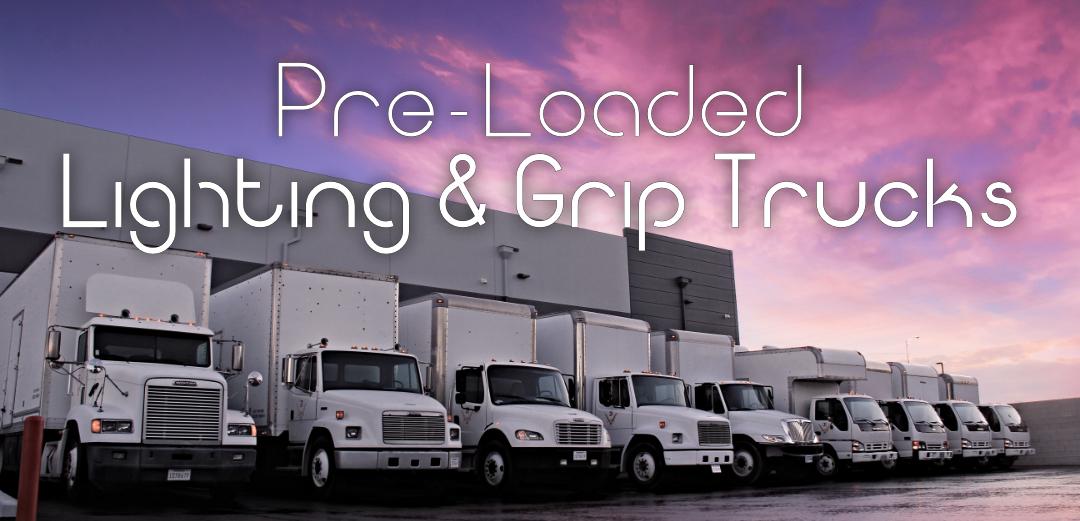 JR Lighting - Pre Loaded Lighting and Grip Truck Rental Packages