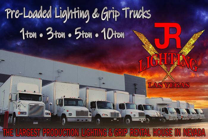 JR Lighting - pre-loaded Lighting and Grip Trucks