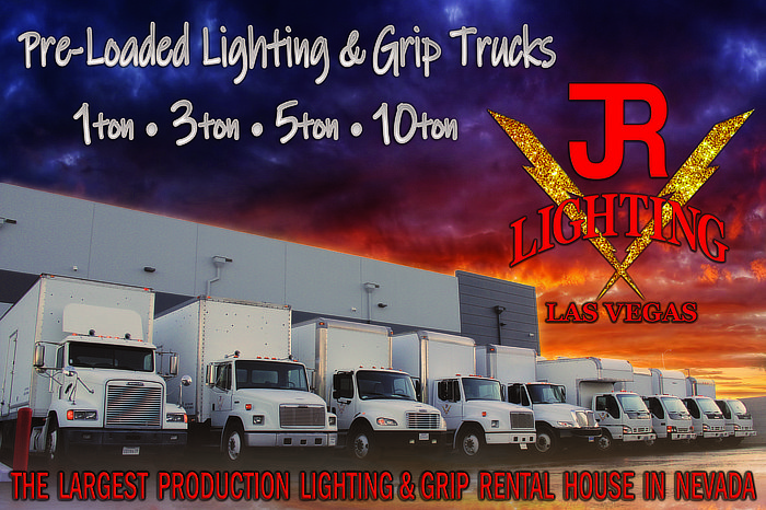 JR Lighting - pre-loaded Lighting and Grip Trucks