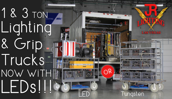 JR Lighting Home Slider LEDs on 1 and 3 ton Trucks