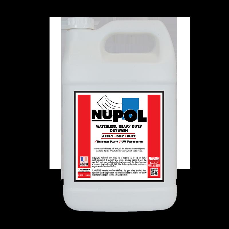 NuPol Waterless, Heavy Duty DryWash