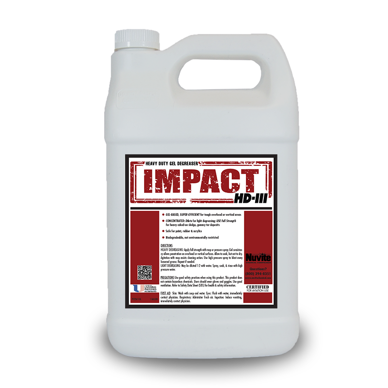 ImPact HD-III Heavy Duty Gel Degreaser