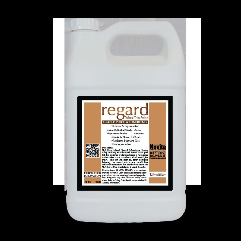 REGARD Wood Trim Polish, Cleaner and Conditioner