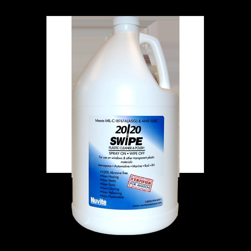 20/20 SWIPE - Spray On / Wipe Off Plastic Cleaner & Polish