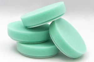 "4"" green foam pads for dual head Cyclo Polisher"
